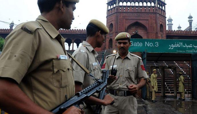 Сутички у Делі між поліцією та студентами