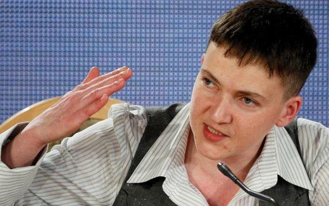 Савченко посміялася над ватажком ДНР: з'явилося відео