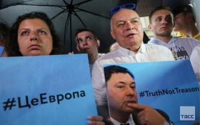 Симоньян та Кисельов в голові колони: у Москві влаштували мітинг на підтримку арештованого глави РІА Новини Україна