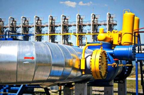Запаси газу в ПСГ України за добу збільшилися до 15,821 млрд куб. м