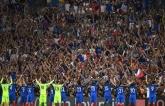"""Французские футболисты повторили знаменитое """"гуканье"""" Исландии: опубликовано видео"""