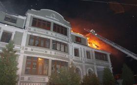 В Киеве горело общежитие переселенцев, тушили почти три часа