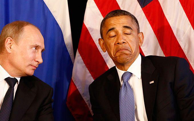 Обама сміється з Путіна: вимоги Кремля надихнули мережу на фотожабу