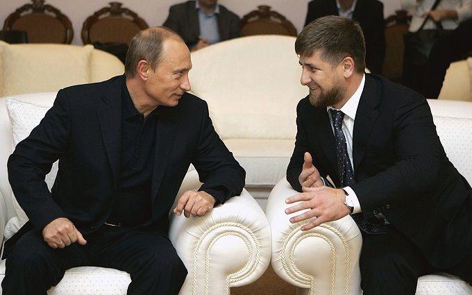 Стало відомо про справжні стосунки Путіна і Кадирова