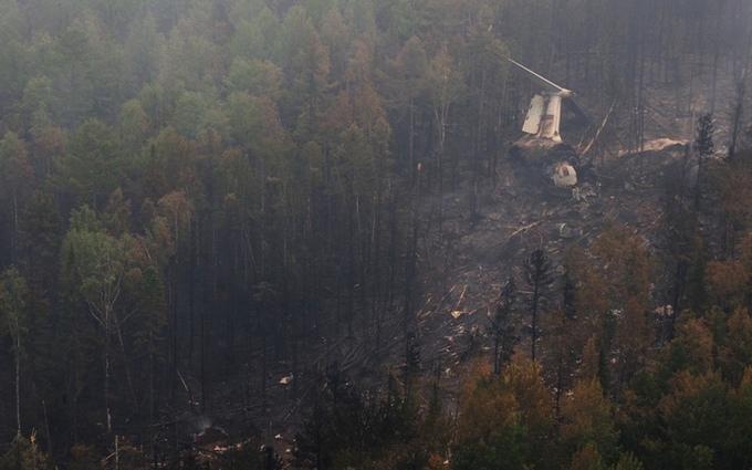 Загибель літака в Росії: стало відомо про виявлення тіл