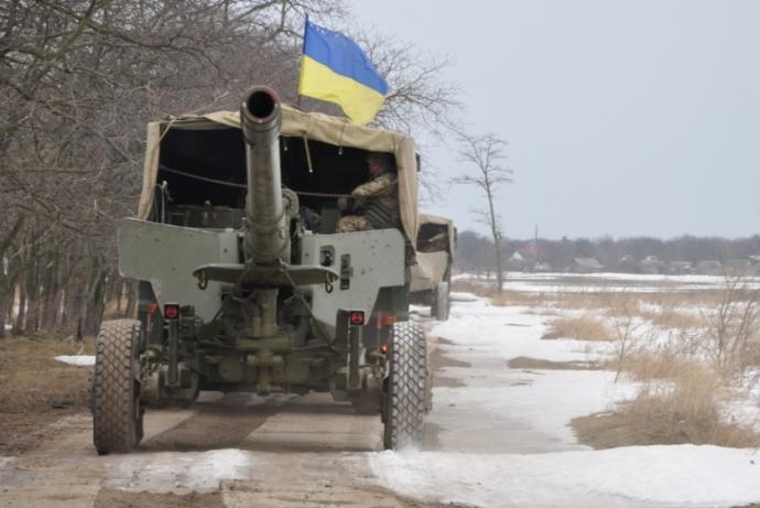 Украинская артиллерия ударила по морским целям: появились фото и видео учений (1)