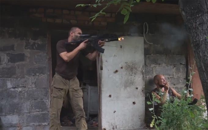 Війна на Донбасі: в мережі з'явилося відео бою