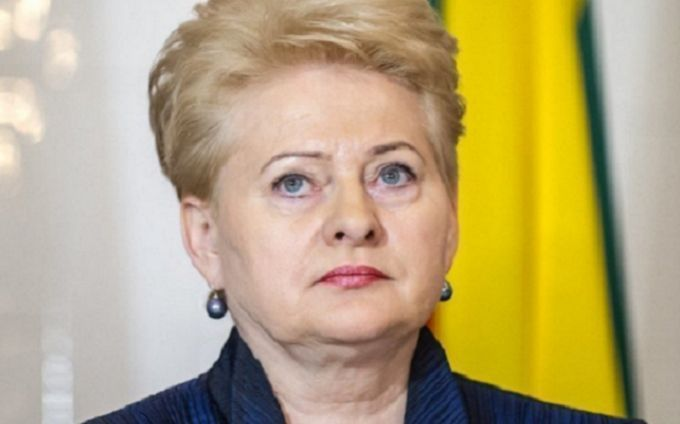 В Україну їде президентка Литви Даля Грибаускайте