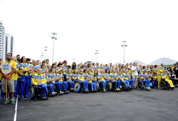 На Паралімпіаді в Ріо піднято український прапор: опубліковані фото (2)