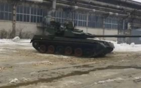 В сети появилось яркое видео испытаний украинского танка