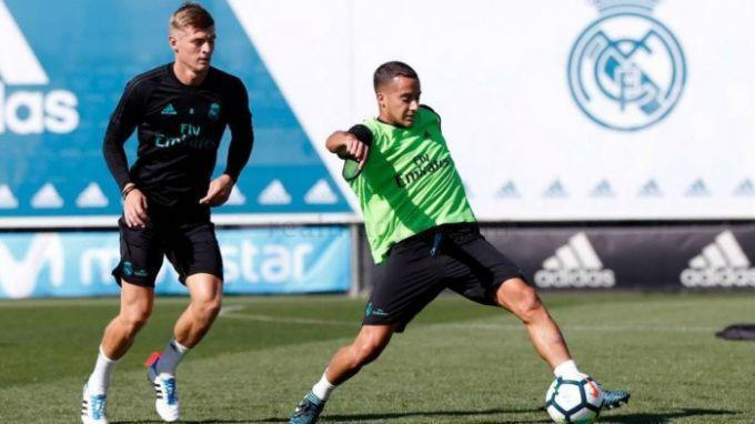 Мадридский «Реал» обыграл «Реал Сосьедад» вматче чемпионата Испании пофутболу
