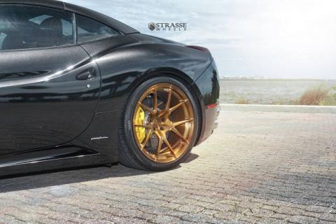 Ferrari California на дисках від Strasse Wheels (10 фото) (8)