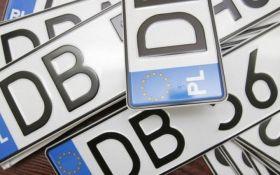 Упрощение ввоза авто на еврономерах в Украину: в Верховную Раду внесли важные законопроекты
