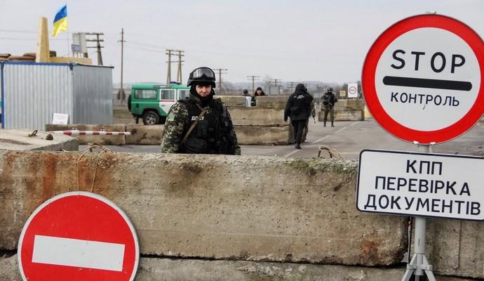 На пунктах пропуска Украины транзит товаров РФ не прекращен