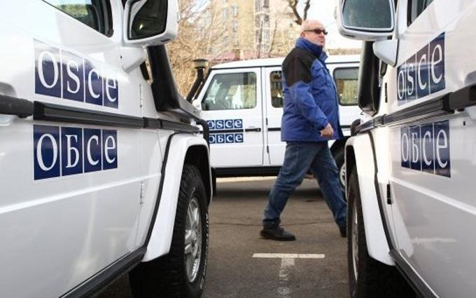 Спостерігачів ОБСЄ мало не накрили міни бойовиків: з'явилися подробиці