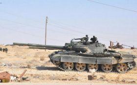 Сирійська опозиція показала захоплені російські танки: опубліковано фото