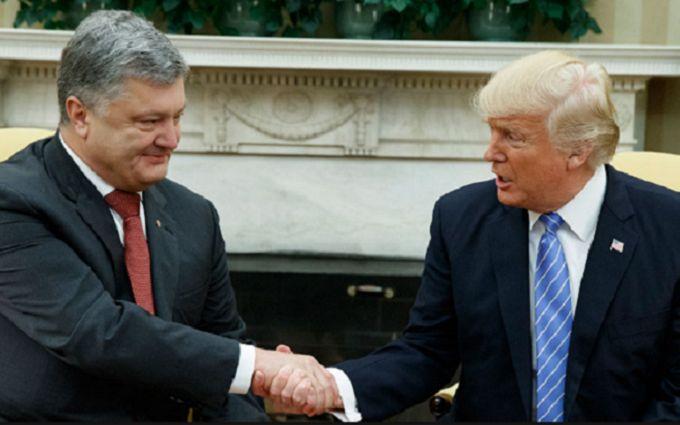 """Не для прессы: Трамп обсудил с Порошенко """"Северный поток - 2"""""""
