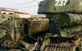 В оккупированом Луганске произошла серия взрывов: боевики потеряли много техники