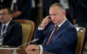 Кортеж президента Молдови Ігоря Додона потрапив в ДТП - перші подробиці