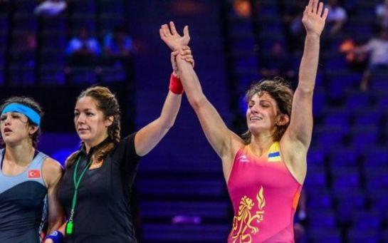Ткач-Остапчук – серебряный призер чемпионата мира по вольной борьбе