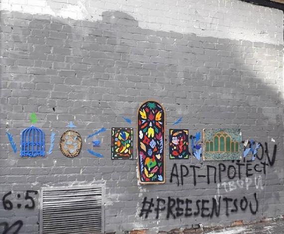 """Харьковская """"Стена Срача"""": скандал с закрашенным граффити набирает обороты (5)"""