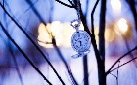 """Переход на """"зимнее"""" время в Украине состоится 29 октября"""