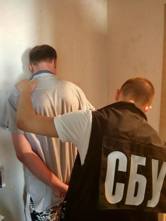 СБУ знайшла в Києві сепаратиста і показала фото (1)