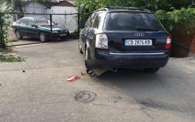 В Одесі водій розбив 7 припаркованих автівок: опубліковані фото