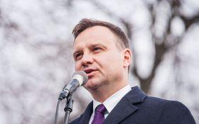 Дуда: ми не можемо залишити Україну