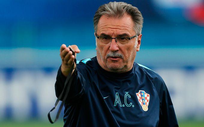 Тренер Хорватии назвал сильные стороны сборной Украины