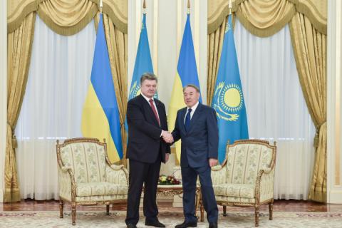 Президенти України та Казахстану підписали План дій Україна-Казахстан на 2015-2017 роки