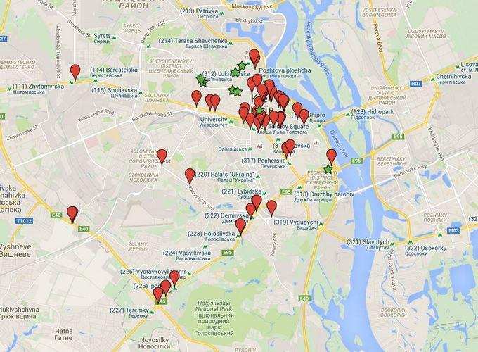У Києві за водіями тепер стежать камери: з'явився список вулиць (1)