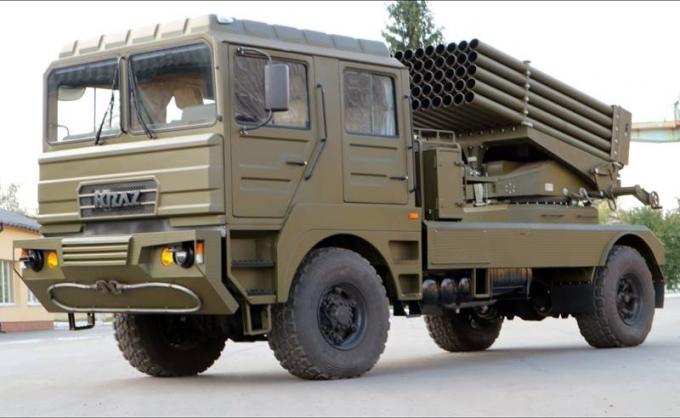 """В рази потужніша, ніж """"Град"""": в Україні з'явилася нова зброя вітчизняного виробництва (1)"""