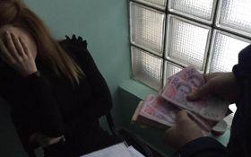 СБУ показала взяточницу, которую задержала в Киеве: опубликованы фото