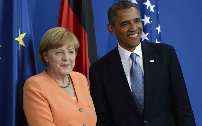Обама і Меркель знайшли жорстке слово для опису дій Росії