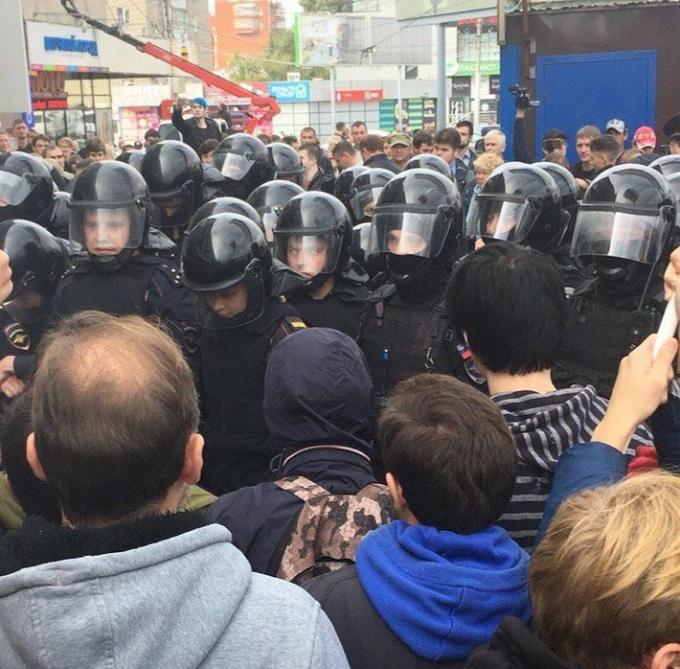 Россия без Путина: россияне проводят масштабные акции протеста по всей стране, много задержанных (4)