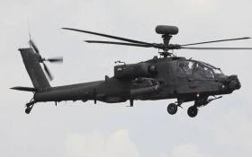 Біля школи в Японії розбився військовий гелікоптер