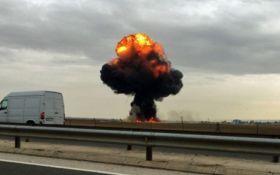 В Испании произошла авиакатастрофа: опубликовано видео