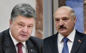 Порошенко зідзвонився з Лукашенком після гучних звинувачень на адресу України