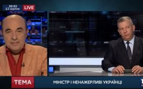 Заява про те, що українці багато їдять - апофеоз нахабства Реви, - Рабінович