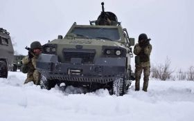 Украинские воины эффектно уничтожили технику оккупантов на Донбассе - появилось видео