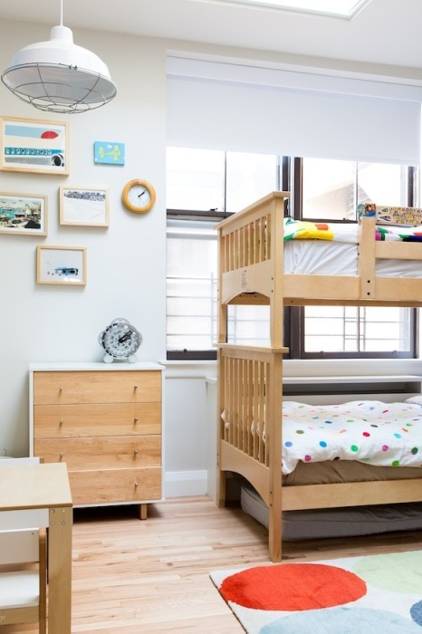Круті ідеї, який допоможуть з оформленням дитячої спальні в стилі Mid-centry modern (17 фото) (9)