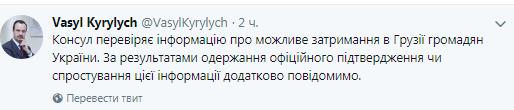 У Грузії повідомили про затримання українців в Тбілісі: перші подробиці (1)