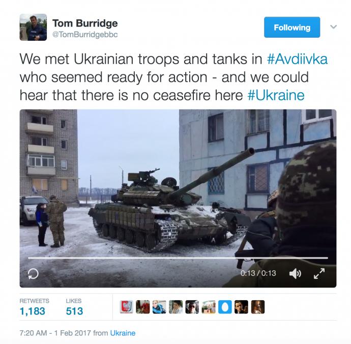 Українські танки в Авдіївці: в мережі на пальцях пояснили путінську пропаганду (1)
