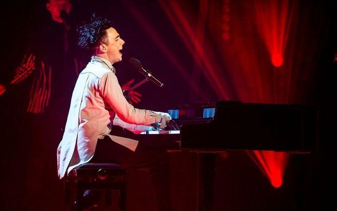 Украина на Евровидении-2018: появилось яркое видео первой репетиции MELOVIN в Лиссабоне