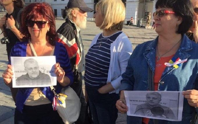 На Майдані шанують пам'ять убитого Шеремета: з'явилися фото та відео