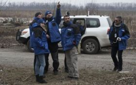 Боевики обстреляли беспилотник ОБСЕ на Донбассе