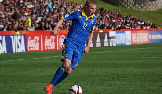 Украинец оказался в ТОП-50 молодых футболистов планеты