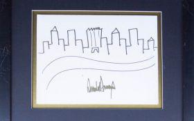 Рисунок Трампа за большую сумму продали на аукционе