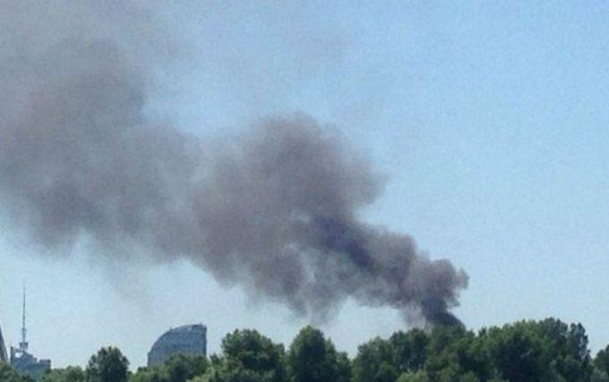 У Києві спалахнула серйозна пожежа: опубліковані фото